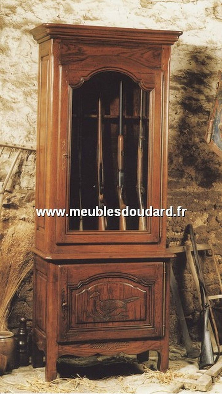 armoire normande merisier r f chambord. Black Bedroom Furniture Sets. Home Design Ideas
