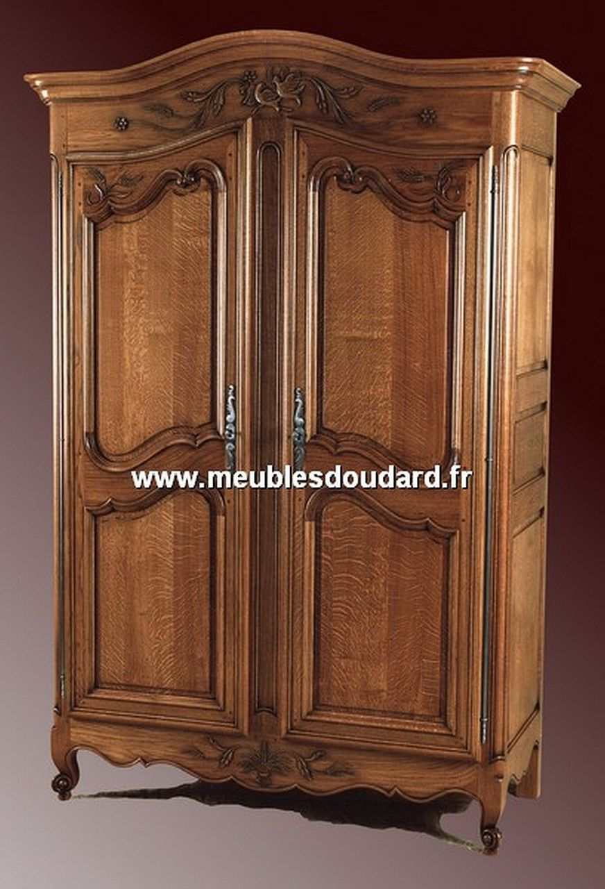 armoire normande chapeau de gendarme r f epi de bl ch ne. Black Bedroom Furniture Sets. Home Design Ideas