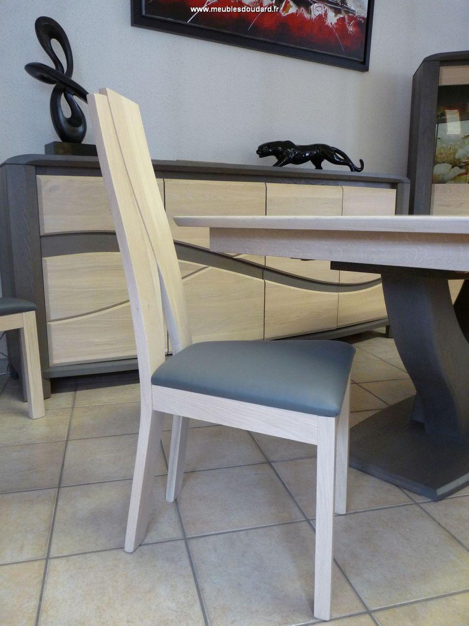 chaise moderne en bois oc ane. Black Bedroom Furniture Sets. Home Design Ideas