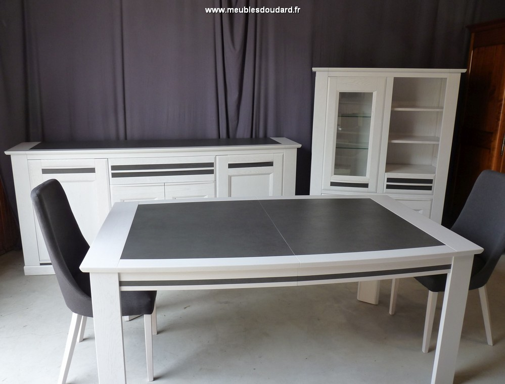 table moderne en bois et c ramique. Black Bedroom Furniture Sets. Home Design Ideas
