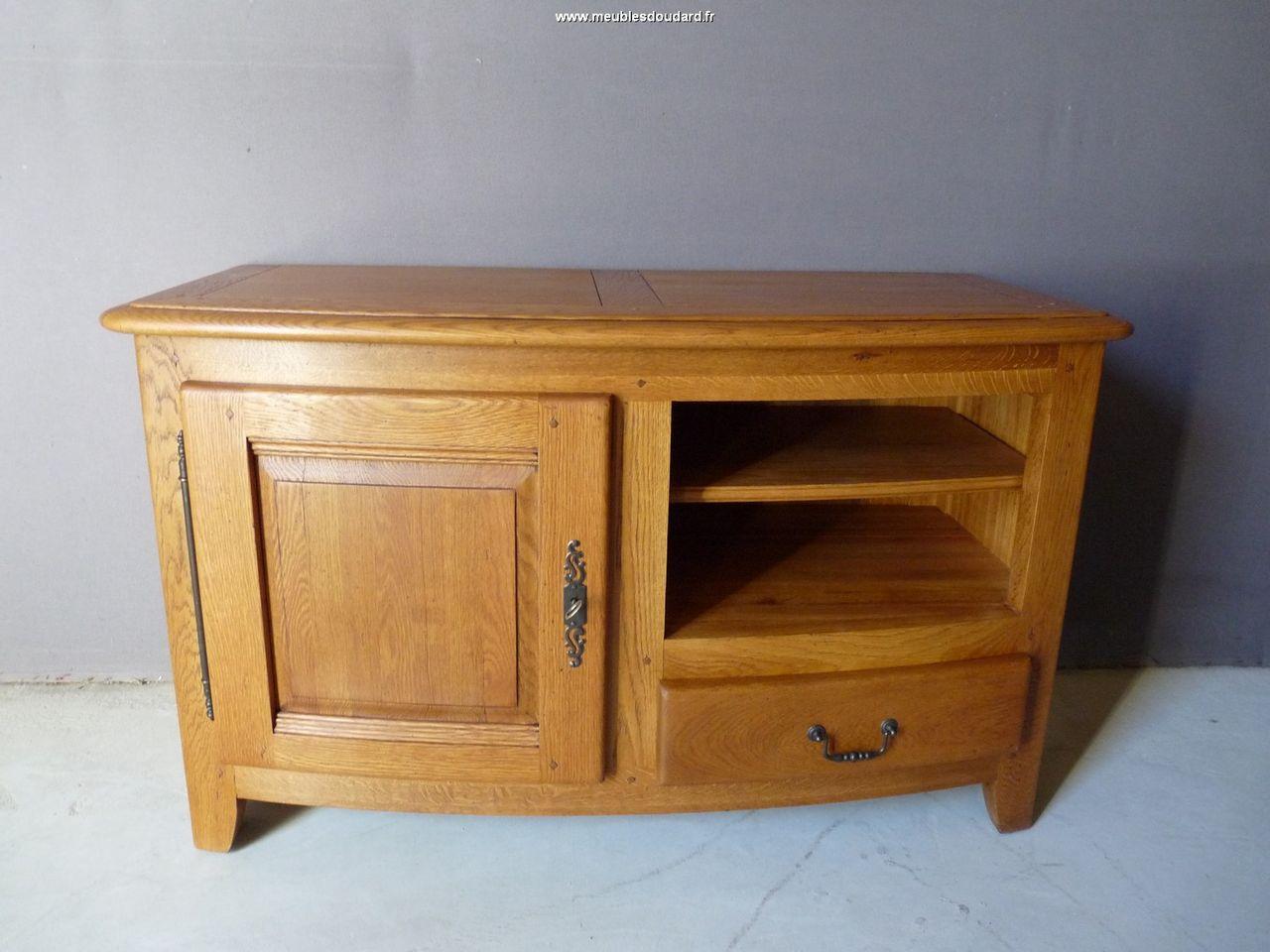meuble de t l vision en bois massif