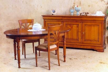 salle a manger merisier salle manger en chene blanchi page 8. Black Bedroom Furniture Sets. Home Design Ideas