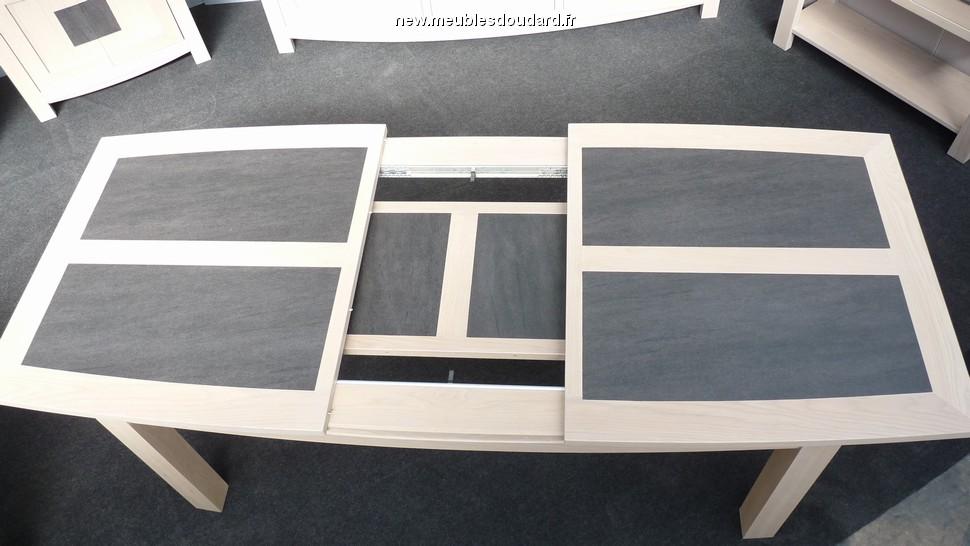 table contemporaine ch ne blanchi r f bp. Black Bedroom Furniture Sets. Home Design Ideas