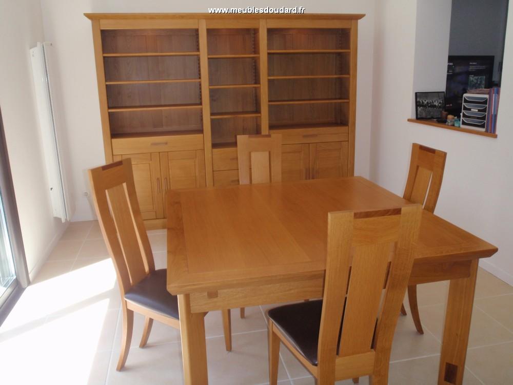 biblioth que moderne en bois massif biblioth que en ch ne. Black Bedroom Furniture Sets. Home Design Ideas