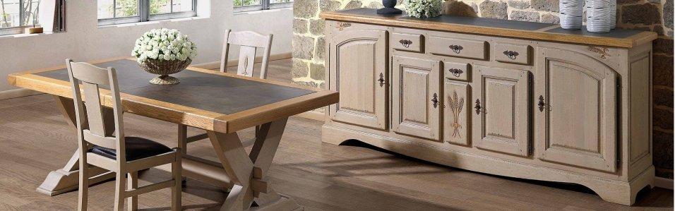 Meuble contemporain meuble design meuble en ch ne - Table salle a manger monsieur meuble ...