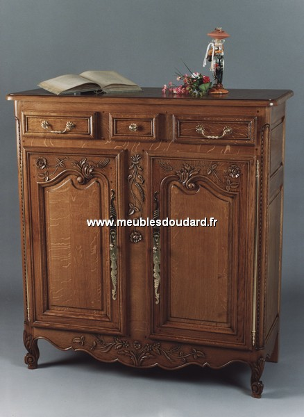 meuble d 39 appui 3 4 normand r f rouen ch ne. Black Bedroom Furniture Sets. Home Design Ideas