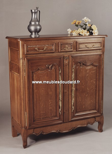 meuble d 39 appui normand r f des cosne ch ne. Black Bedroom Furniture Sets. Home Design Ideas
