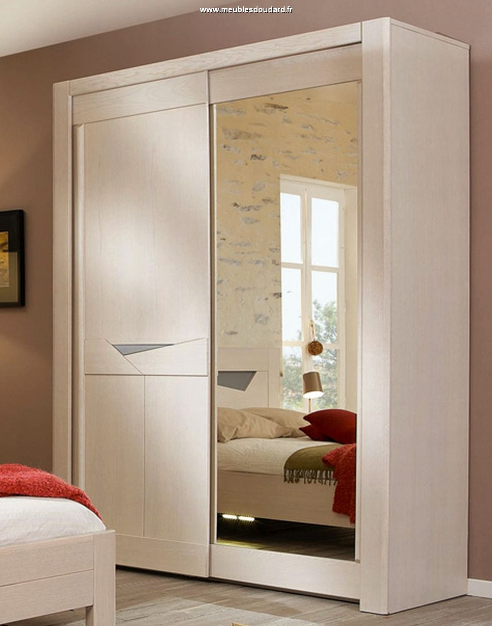 armoire dressing portes coulissantes. Black Bedroom Furniture Sets. Home Design Ideas