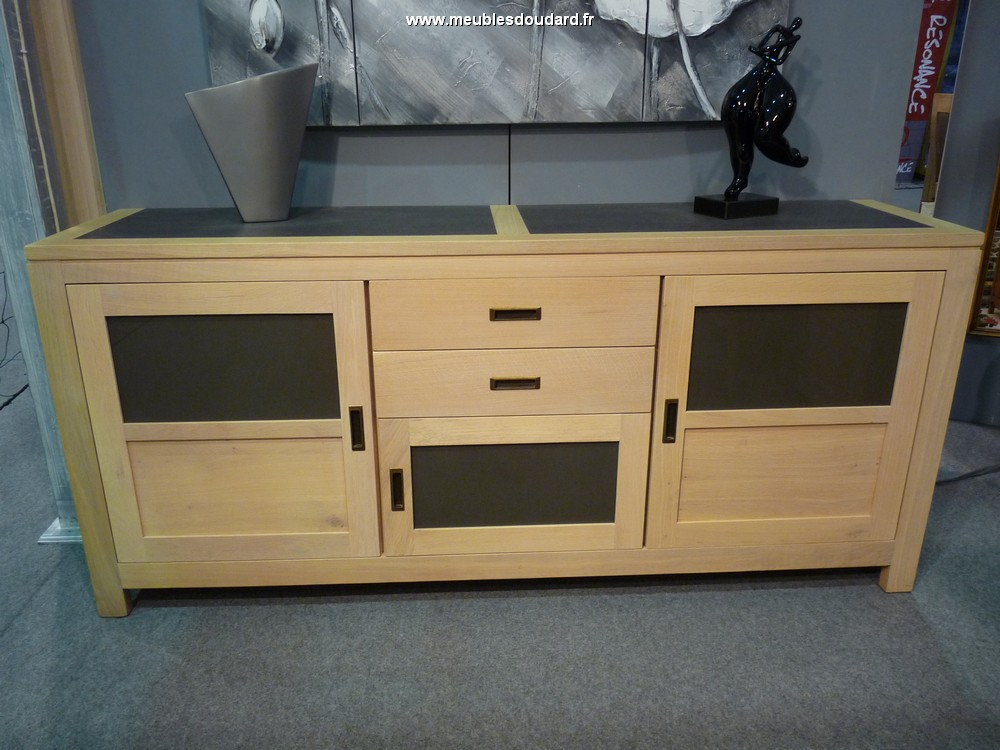 bahut moderne en bois massif en destockage. Black Bedroom Furniture Sets. Home Design Ideas
