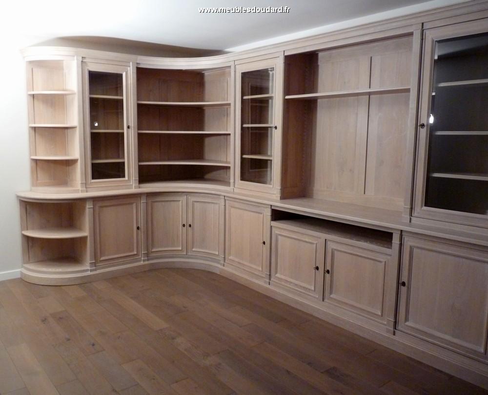 Biblioth que sur mesure meuble biblioth que en bois sur mesure boiserie biblioth que sur - Meubles bruxelles ...