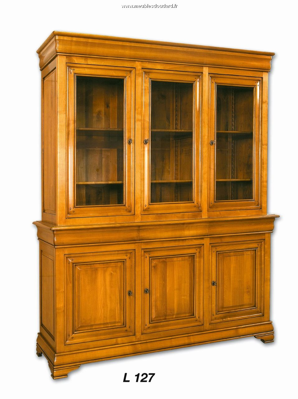 meuble biblioth que biblioth que louis philippe biblioth que merisier. Black Bedroom Furniture Sets. Home Design Ideas