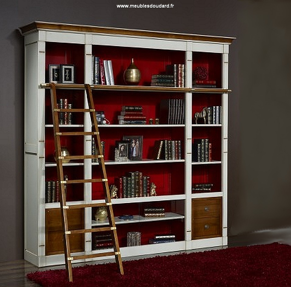 biblioth que modulable en bois meuble rangement. Black Bedroom Furniture Sets. Home Design Ideas