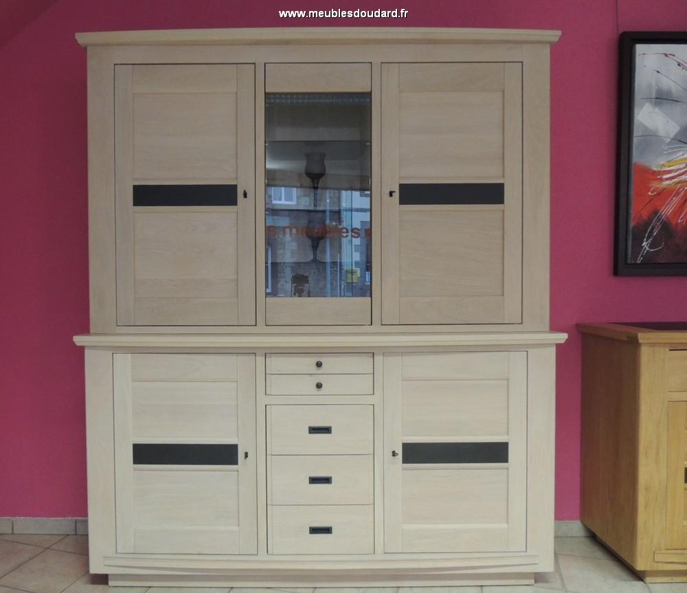salle manger moderne en ch ne massif couleur ch ne naturel blanchi. Black Bedroom Furniture Sets. Home Design Ideas