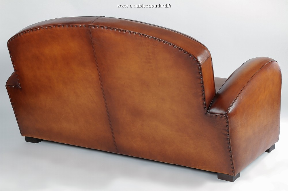 Fauteuil club for Canape cuir france