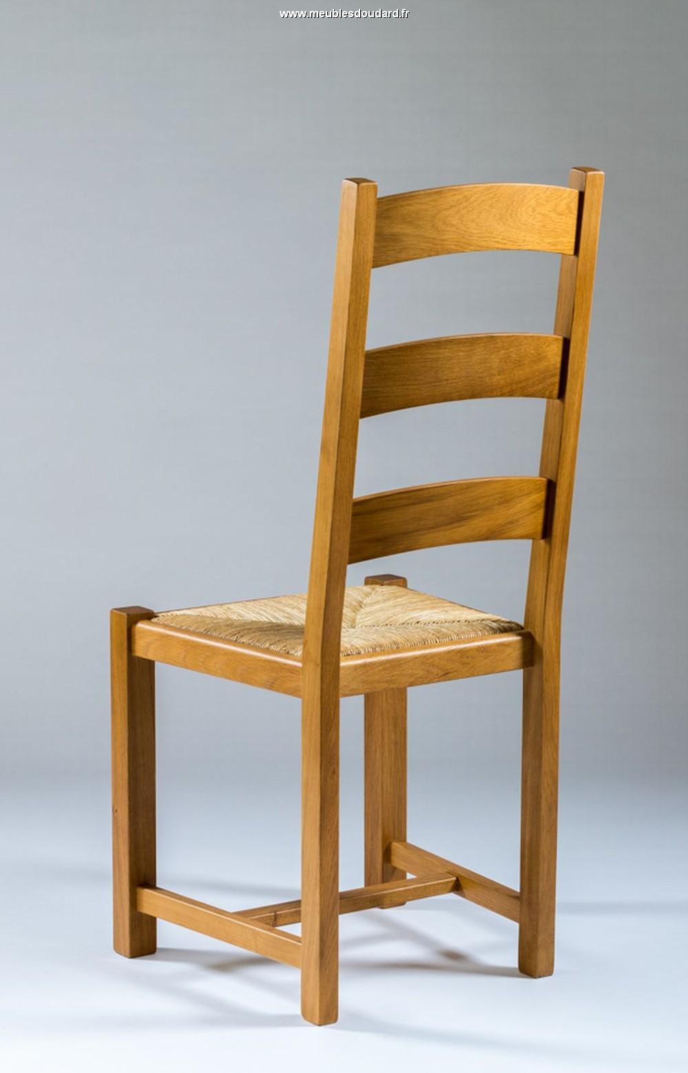 chaise village en ch ne massif. Black Bedroom Furniture Sets. Home Design Ideas