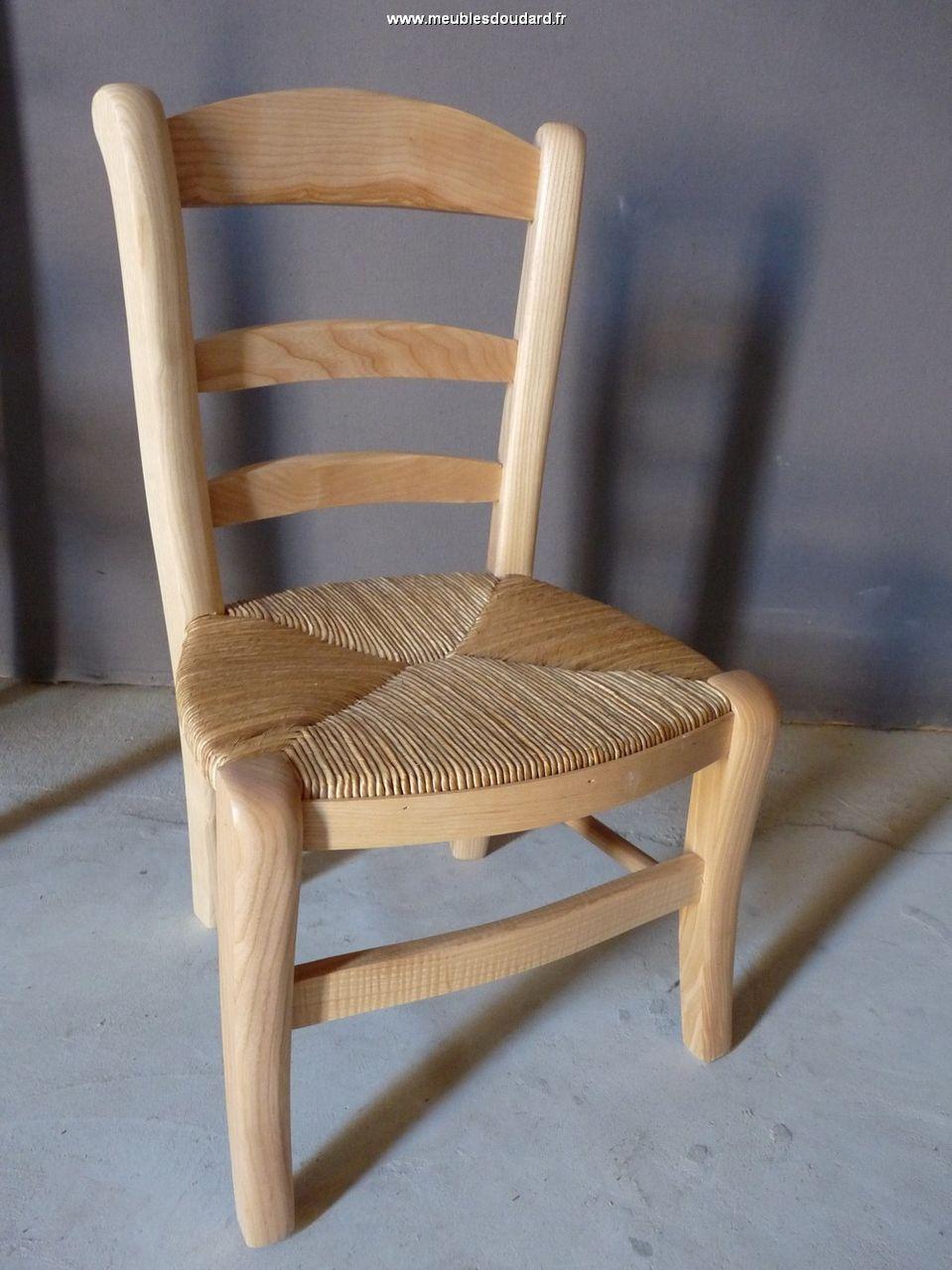 chaise enfant en bois massif r f 49 c. Black Bedroom Furniture Sets. Home Design Ideas