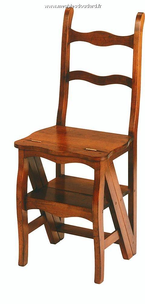 chaise d pliable escabeau. Black Bedroom Furniture Sets. Home Design Ideas