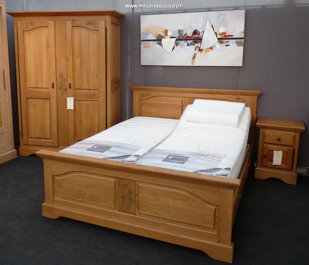 Armoire chêne rustique, armoire 2 portes campagne