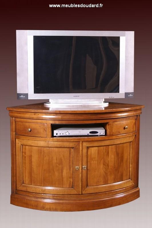 meuble d angle tele ecran plat beautiful meuble tv duangle industriel en acier et pin massif. Black Bedroom Furniture Sets. Home Design Ideas