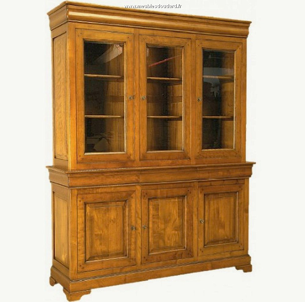 Meubles Biblioth Ques En Bois Massif De Grande Qualit  # Meuble Bibliotheque Couleur Merisier