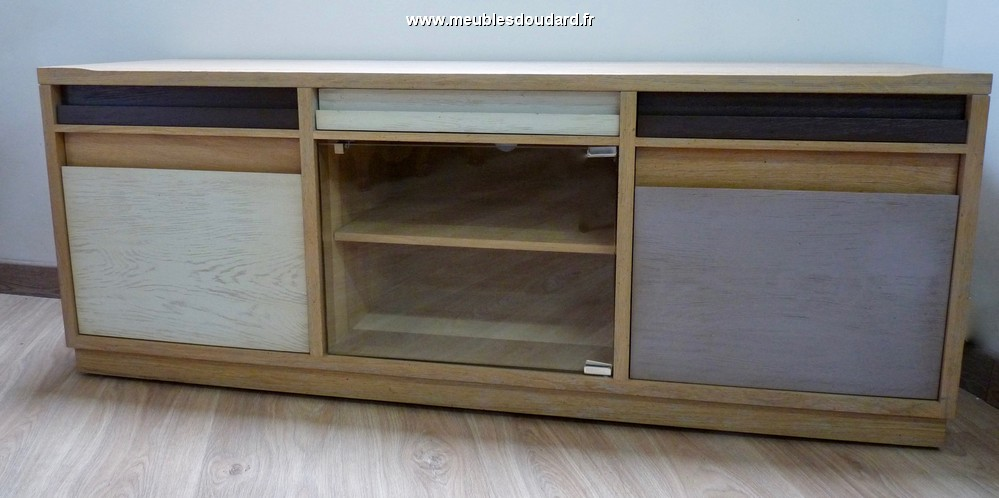 Meuble tv 3 portes ref astuces for Meuble 3 portes moderna