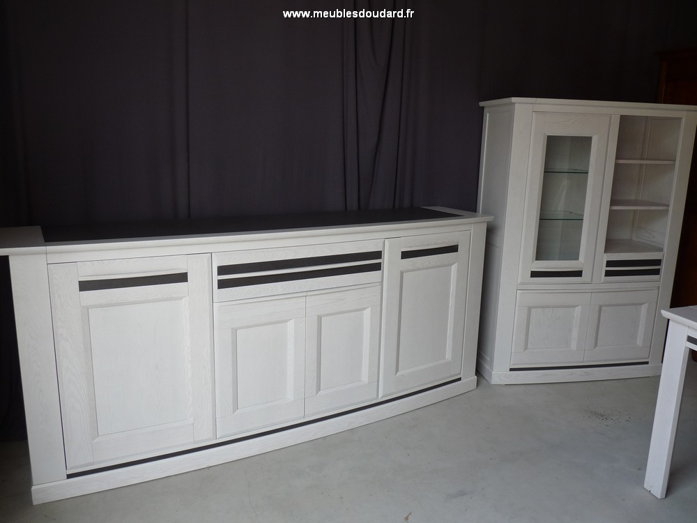 salle 224 manger en bois blanc design