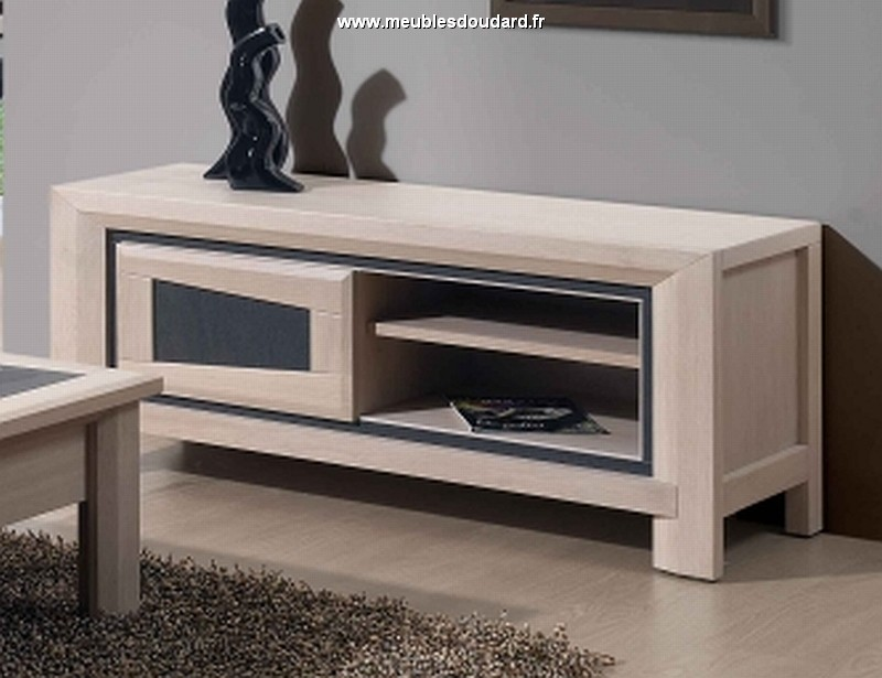 meuble tv moderne en bois meuble tv contemporain en ch ne blanchi meuble tv libellule. Black Bedroom Furniture Sets. Home Design Ideas