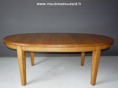 Table Ovale En Bois Massif Table Ovale A Rallonges Table