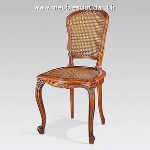 Chaises de style Louis XV - chaises Louis XV - chaise merisier