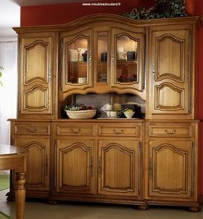 buffet vaisselier en bois massif buffet vaisselier. Black Bedroom Furniture Sets. Home Design Ideas