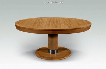 table ovale en bois massif table ovale rallonges table. Black Bedroom Furniture Sets. Home Design Ideas