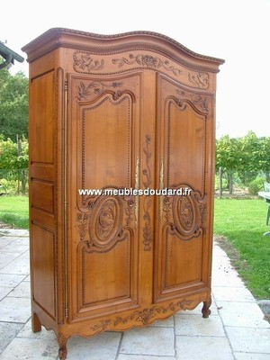 Norman solid wood wardrobe_6012