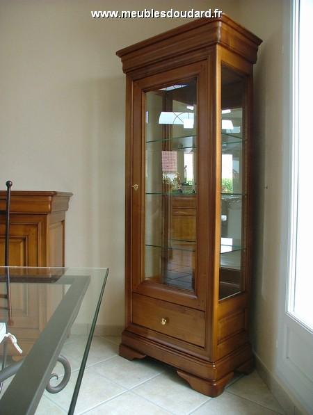 meuble d 39 angle louis philippe 2 corps en merisier r f des. Black Bedroom Furniture Sets. Home Design Ideas