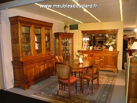 Table Ronde De Salle A Manger En Merisier Louis Philippe 2 Allonges