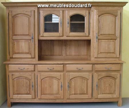 buffet vaisselier 4 portes ref po 170 ch ne. Black Bedroom Furniture Sets. Home Design Ideas