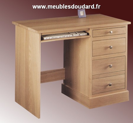 bureau chene massif moderne rx47 jornalagora. Black Bedroom Furniture Sets. Home Design Ideas