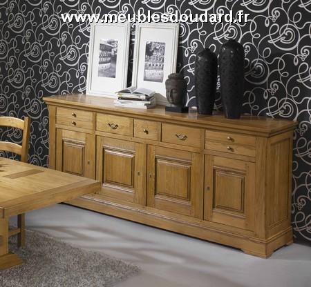Buffet vaisselier rustique bahut vaisselier campagne meuble vaisselier en bois rustique - Meuble bas salle a manger ...
