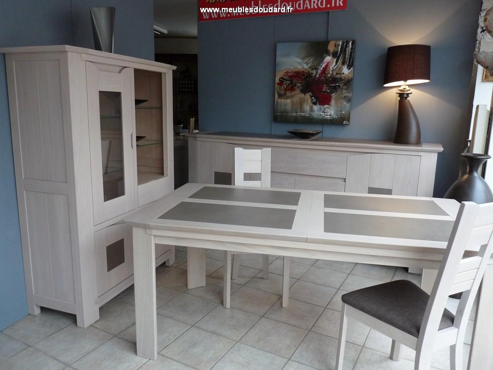 Table de salle manger bali table rectangle en ch ne et for Salle a manger en chene