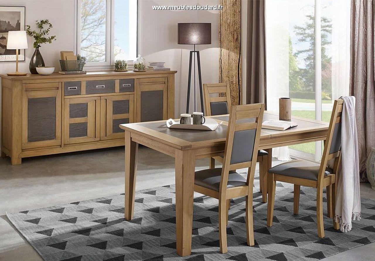 Salle manger moderne en bois massif for Salle a manger en bois