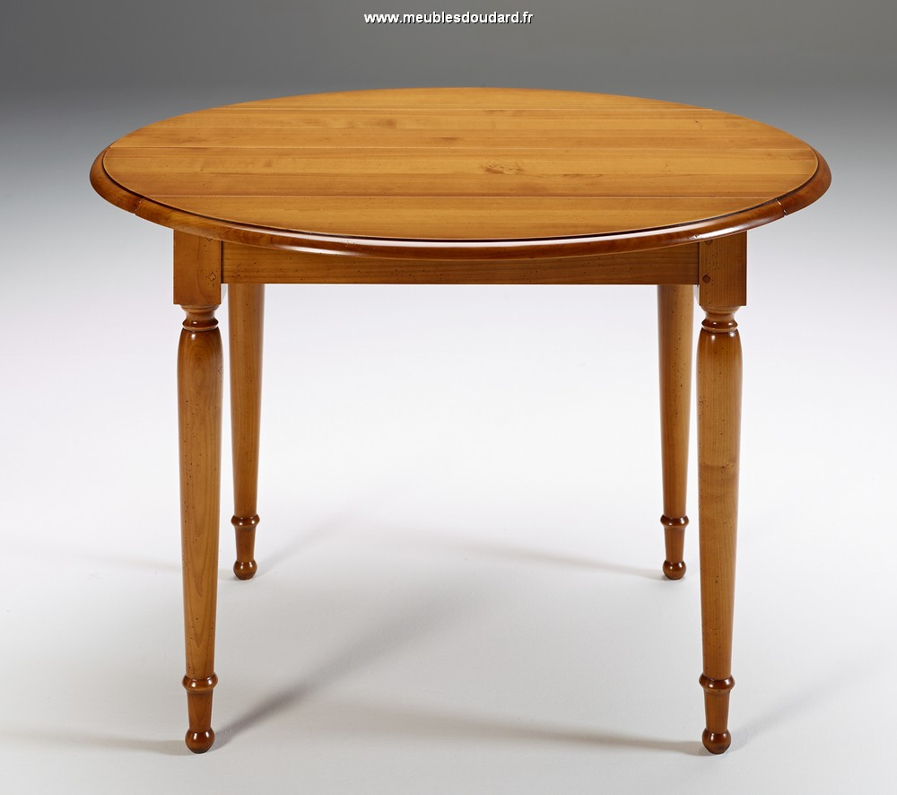 table volets merisier. Black Bedroom Furniture Sets. Home Design Ideas