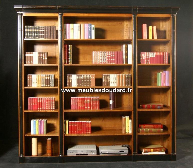 Meuble de rangement biblioth que sans porte r f go sien - Relooker une bibliotheque en merisier ...