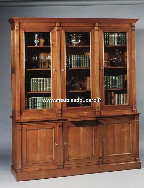 bibliotheque directoire 3 portes. Black Bedroom Furniture Sets. Home Design Ideas