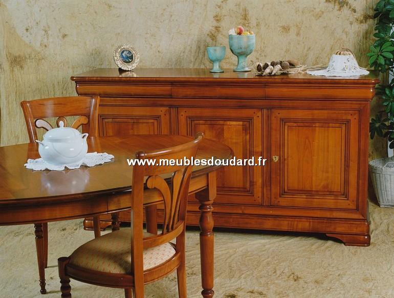 Table ovale de salle manger en merisier de style louis - Salle a manger louis philippe merisier ...