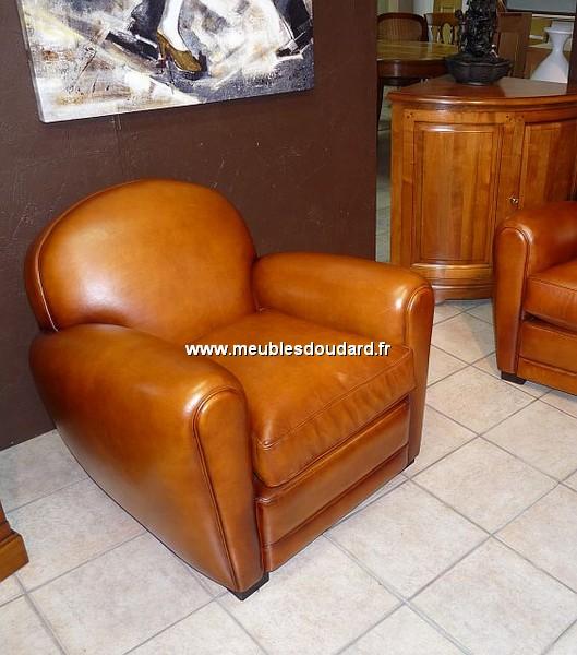 Véritable fauteuil club de fabrication haut de gamme, garnissage ...